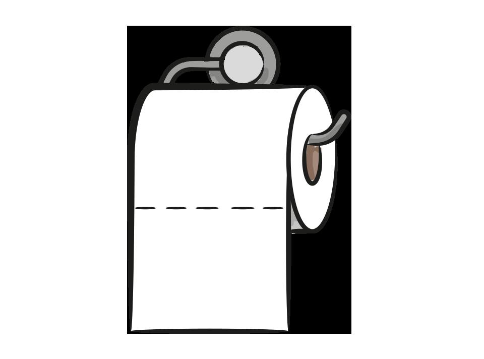 Toilettenrolle VON-VORNE-BEGINNER